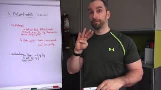 5 Regeln für den Fettabbau und Muskelaufbau