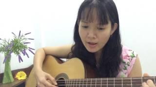Ly Rượu Mừng (Phạm Đình Chương) - Uyên Nguyễn guitar