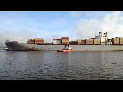 CONTAINER SHIP MSC FINLAND - IMO 8511184