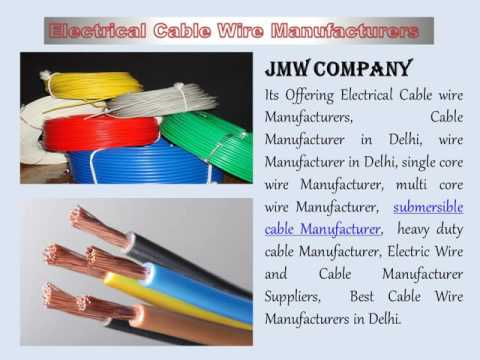 Best Cable Wire Manufacturers in Delhi