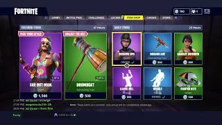 *NEW* Far Out Man and Dreamflower Skins in Fortnite Item Shop