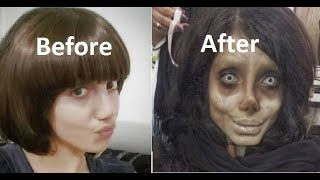 Sahar Tabar before and after