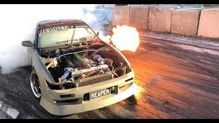 Can't stop the RFB REAPER S13! RB Goodness + Huge flames