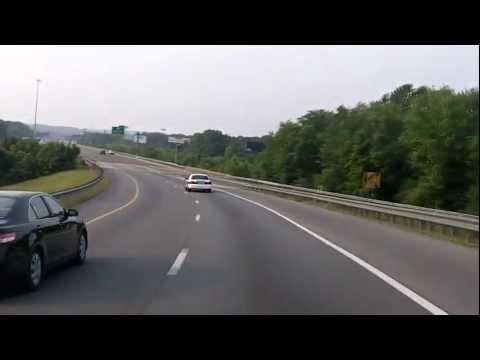 I-75 South Through Chattanooga into Georgia