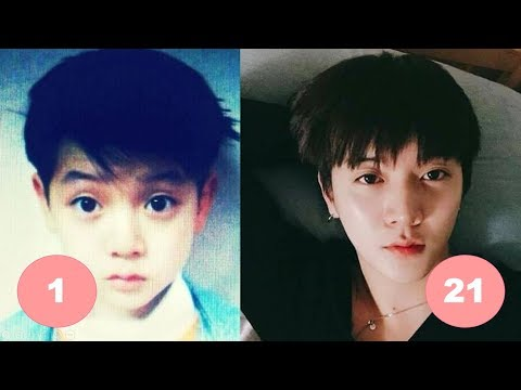 Ren NU'EST Childhood   From 1 To 21 Years Old