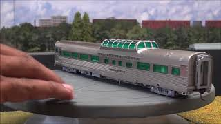 Review: Broadway Limited California Zephyr Cars