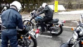 KAWASAKI W3 箱根峠の元気なオジサン達 thumbnail