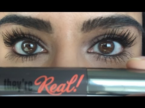 ca6fcf8a4a9 Mascara Monday: Benefit Cosmetics They're Real! Mascara Review &  Demonstration