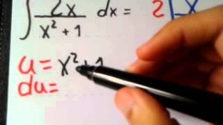 Integral - Substituição Simples por u.du