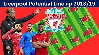 LIVERPOOL Potential Lineup 2018/19 with Fekir,Alisson|Liverpool Squad 2018/19