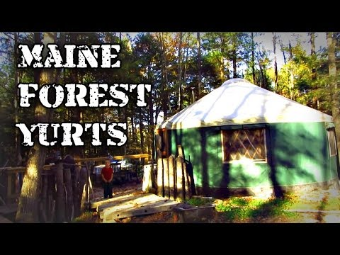 Maine Forest Yurts