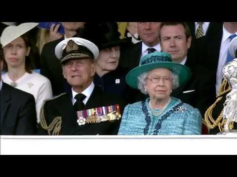 Full Length Queen Elizabeth Naming Ceremony Live Event HD