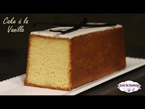 recette-du-cake-moelleux-à-la-vanille