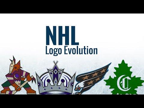 NHL Logos Through The Years