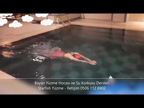 Bayan Yüzme Hocası - Aylin Hanım Kısa Sürede Su Korkusunu Yendi Ve Yüzme öğrendi