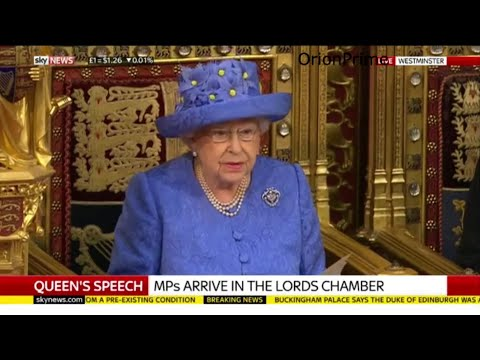 The Queen's Speech. (in full) - 21st June 2017
