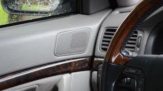 Volvo s80 audio - sound stereo system test [stock]