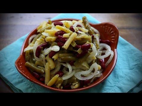 How to Make Three Bean Salad   Salad Recipes   Allrecipes.com