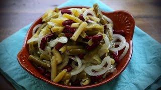 Salad Recipes - How To Make Three Bean Salad