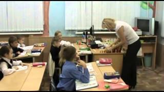 Первый класс на уроке математики