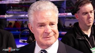 JIM LAMPLEY BREAKS DOWN AS HE GIVES EMOTIONAL SEND OFF AFTER LAST HBO BROADCAST