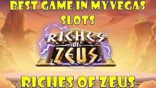 Best Game In myVegas Slots Riches of Zeus   MyVegas Slots 2021 screenshot 4