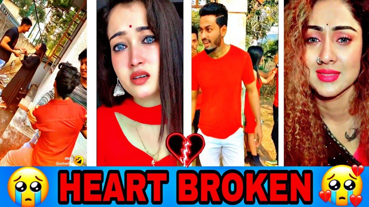 Breakup 💔💔💔 Tik Tok Videos || Sad Tik Tok Videos || moj and moj video || PART-181 ||
