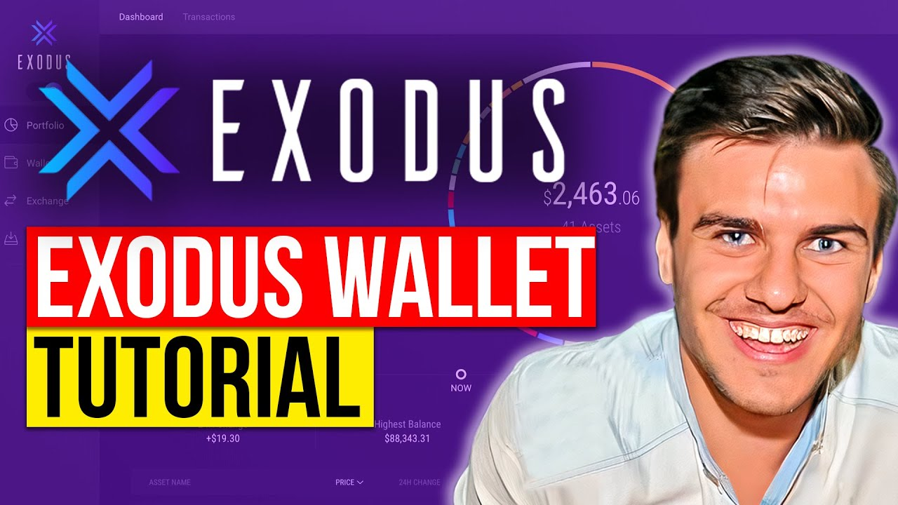 Exodus Wallet Tutorial - How to setup one of the BEST Bitcoin wallets
