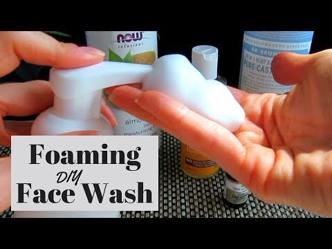 homemade-foaming-face-wash-recipe-for-acne-prone-and-sensitive-skin