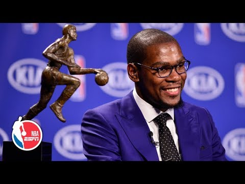 Kevin Durant's famous 2014 'you the real MVP' acceptance speech | ESPN Archives
