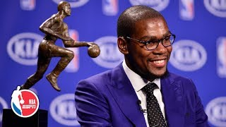 Kevin Durant's famous 2014 'you the real MVP' acceptance speech   ESPN Archives