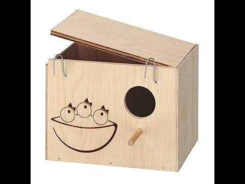 гнездовой домик для попугая