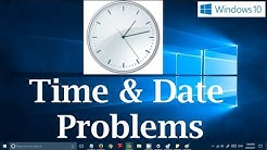 Windows 10 Time and Date not Updating Problem (3 Possible Solutions) Time Always Wrong!