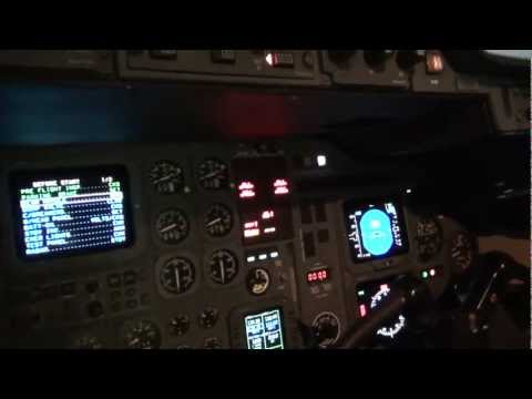 Hawker HS125-800XP Cockpit Systems Start Up | N317CC | Osceo