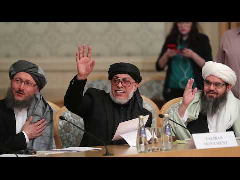 Moscow Afghan conference successful;Taliban take part in Moscow talks. (Urdu version)