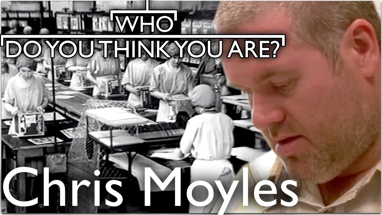 Chris Moyles Learns Of Grandmothers Factory Life | Who Do You Think You Are