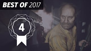 GameSpot's Best of 2017 #4 - Resident Evil 7: Biohazard