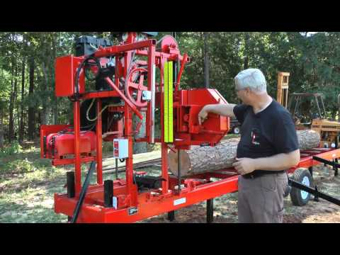 Cook's MP-32 Portable Sawmill 2013