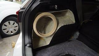 Установка сабвуфера JL Audio 10W3v3 в VW Tiguan