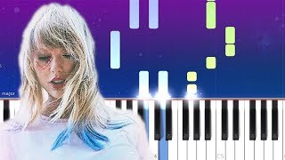 Taylor Swift - Lover (Piano Tutorial)