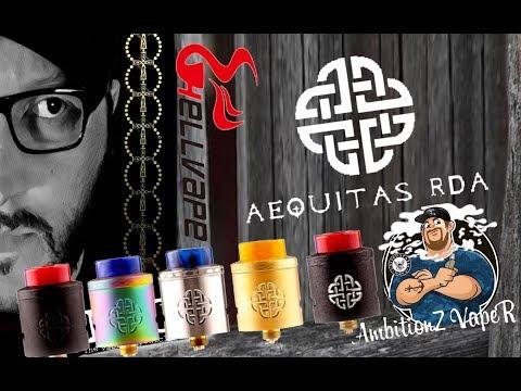 Aequitas RDA By AmbitionZ VapeR & Hellvape