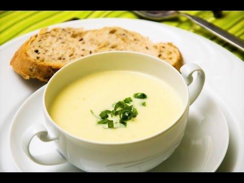 Вишисуаз - Суп-пюре картофельно-луковый французский. Домашние рецепты.