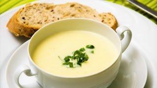 Суп-пюре картофельно-луковый французский -Вишисуаз. Домашние рецепты.