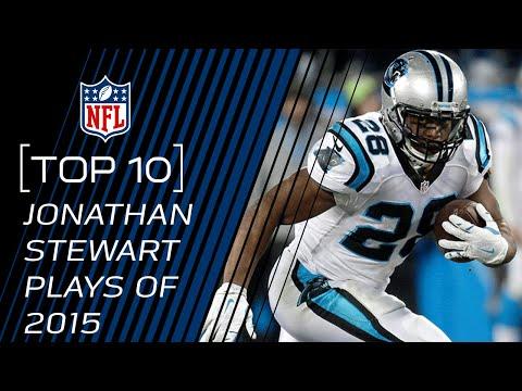 Top 10 Jonathan Stewart Plays of 2015  TopTenTuesdays  NFL
