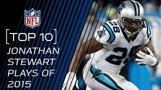 Top 10 Jonathan Stewart Plays of 2015   #TopTenTuesdays   NFL