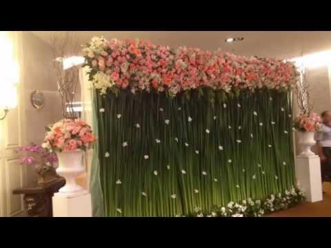ซุ้มดอกไม้งานแต่งงาน