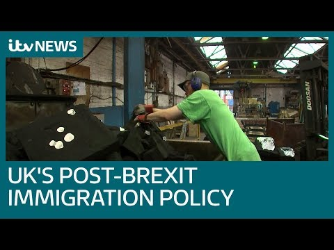 Theresa May sets out the government's post-Brexit immigration policy | ITV News Mp3