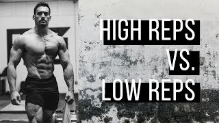 HIGH REPS vs. LOW REPS: Which should you do?: Shredded for Life Ep. 12