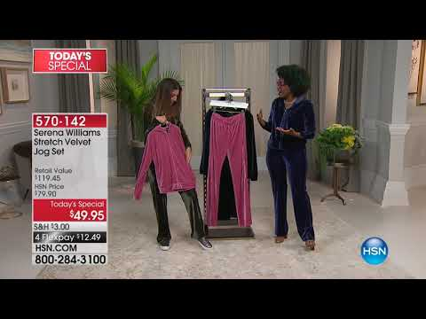 HSN | HSN Today: SERENA WILLIAMS Signature Statement Fashions 09.11.2017 - 08 AM