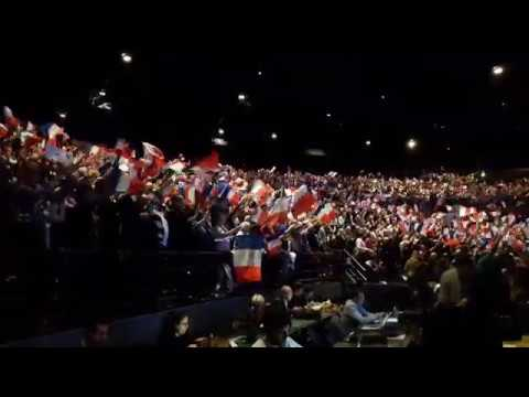 Fin du meeting de François Fillon à Caen